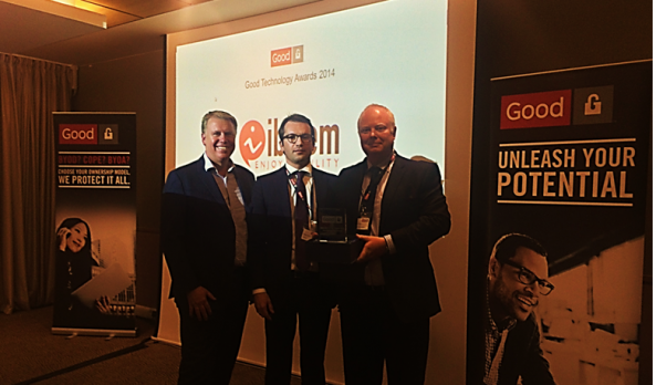 IBELEM, « Partner of the Year 2014 » Good Technology